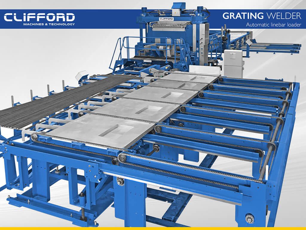 Grating Welders – Clifford Machines & Technology