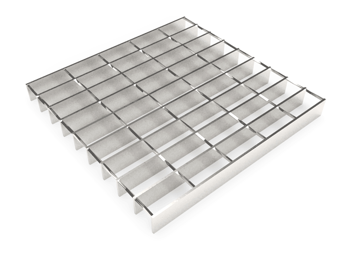 Smooth Twisted Square Grating