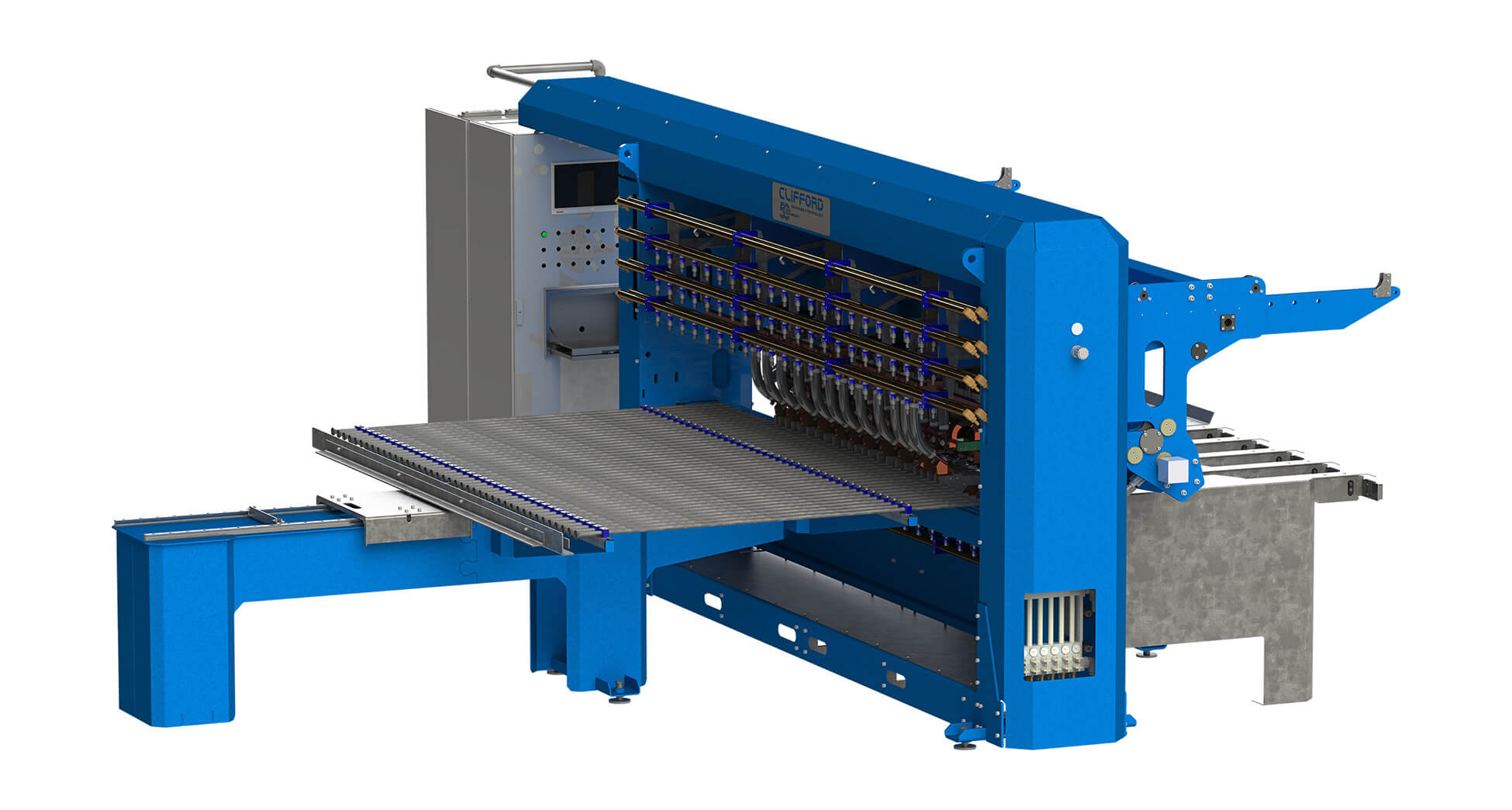 Streamlined Economical Mesh Welder