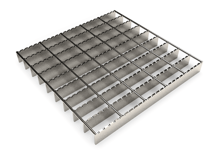 Serrated Round Grating