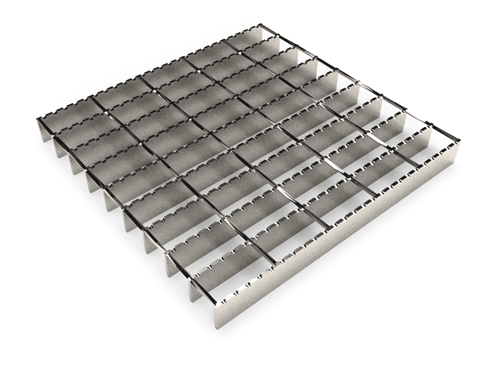 Serrated Twisted Square Grating