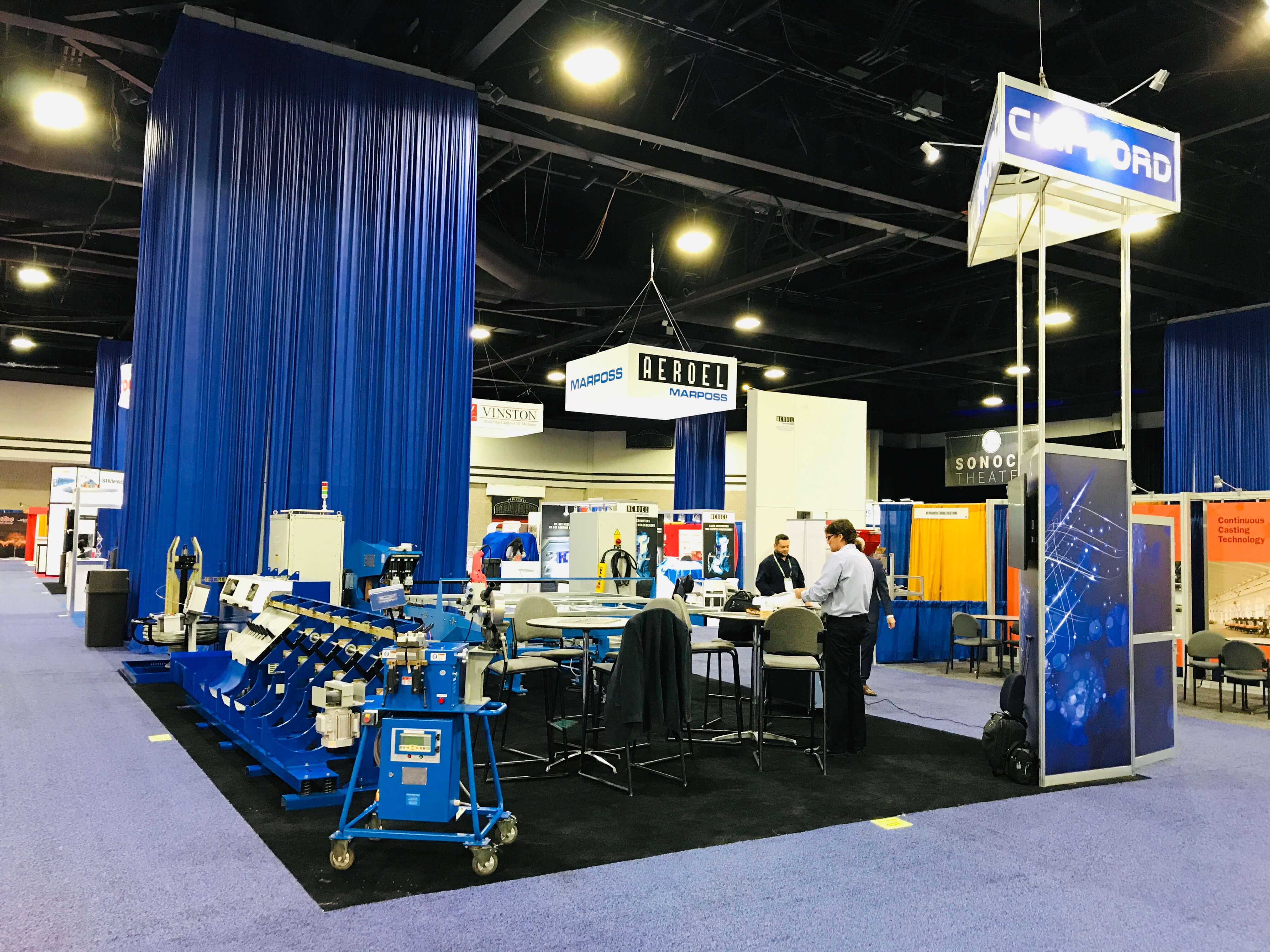 Interwire 2019 Clifford Show Stand