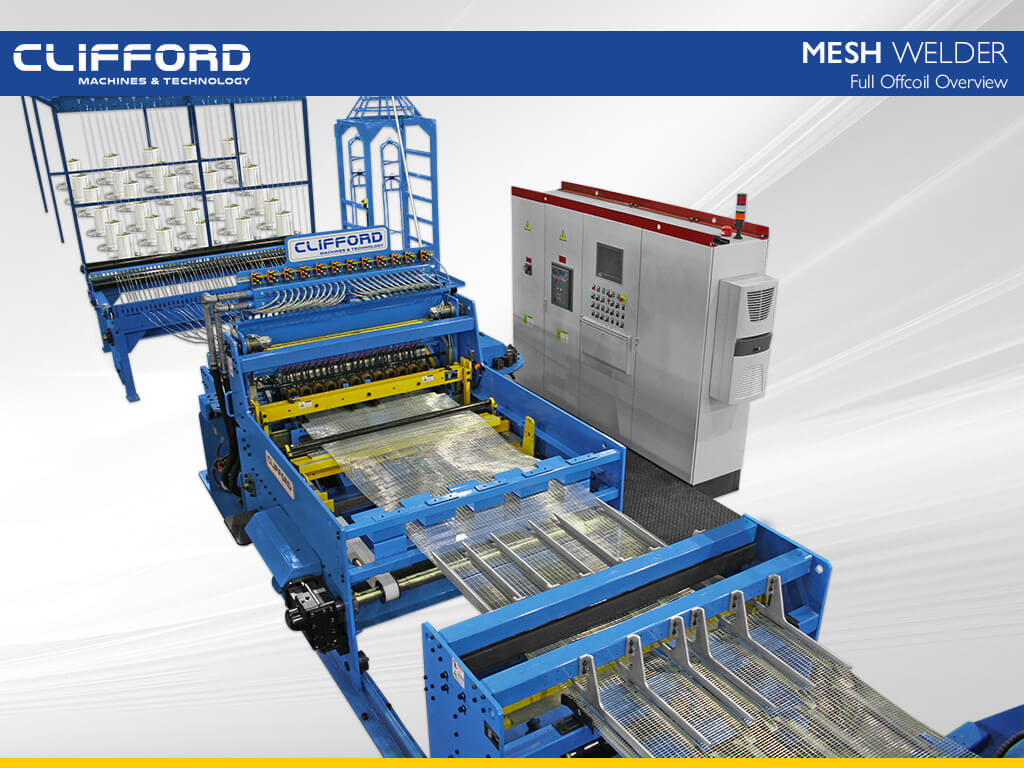 Offcoil High Speed Mesh Welder