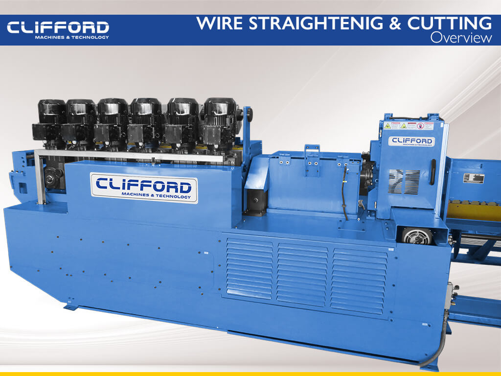 Wire straightening and cut to length machine - Overview