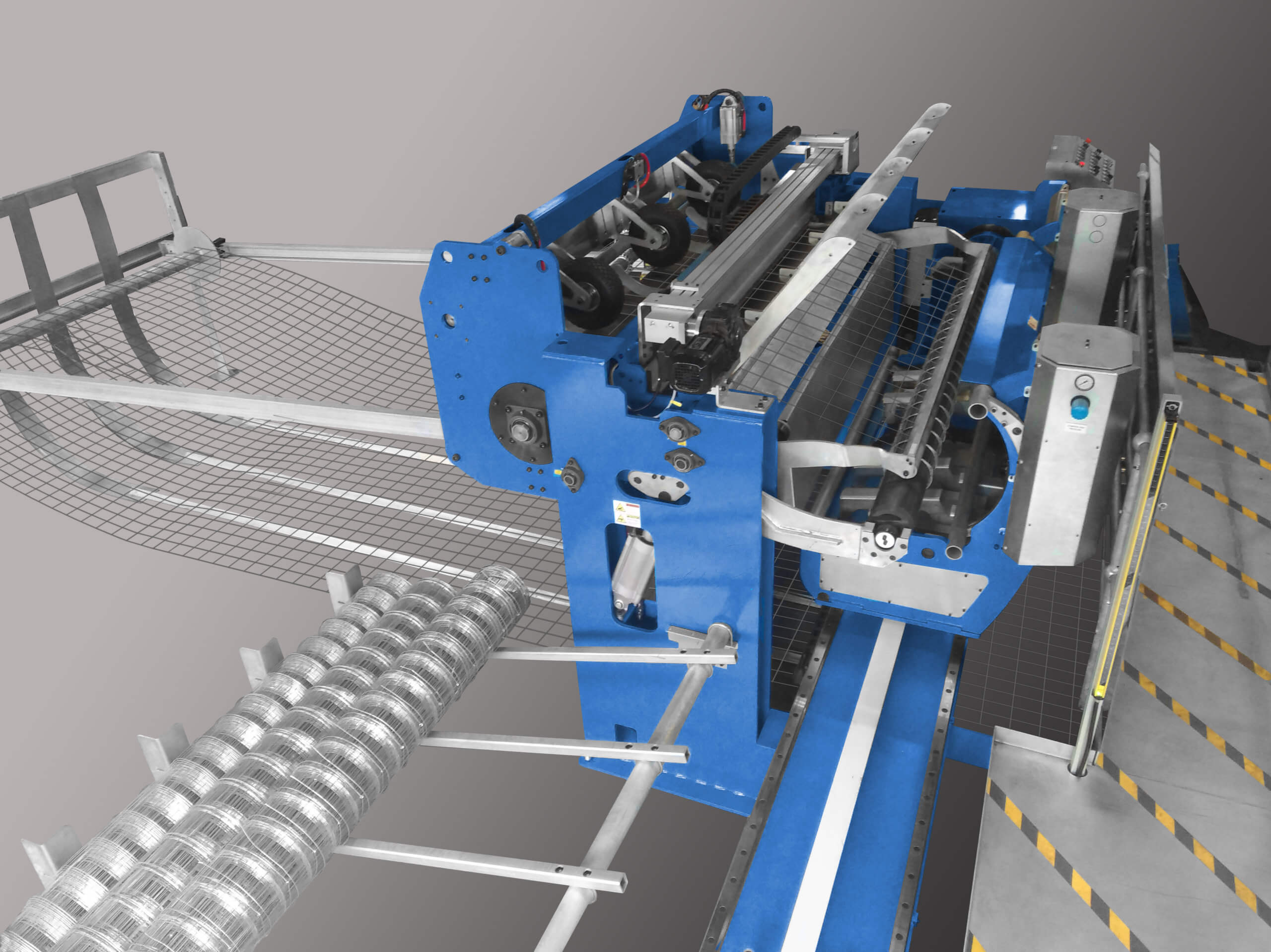 Fully Automatic Mesh Coiler