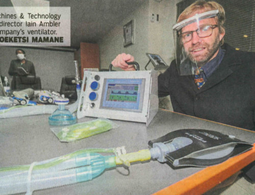 City commits to help local ventilator maker get state's attention